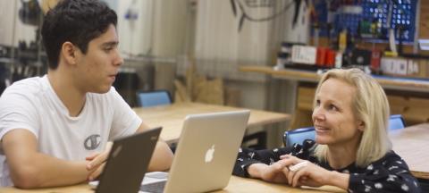 Gemensamma krafter lyfte IT-Gymnasiet i Västerås