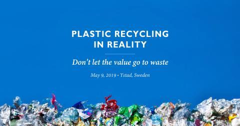 Seminarium om det stora värdet av plastavfall lockar storpublik till Ystad