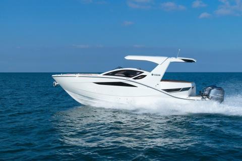 スポーツクルーザー 「SR330」 新発売 大人数で洋上の非日常体験を楽しむオープンタイプモデル