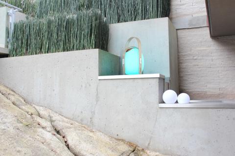 Trådlös högtalare och lampa, large - miljö