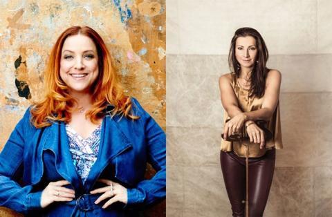 Sonja Aldén och Shirley Clamp gästar Sånger För Livet