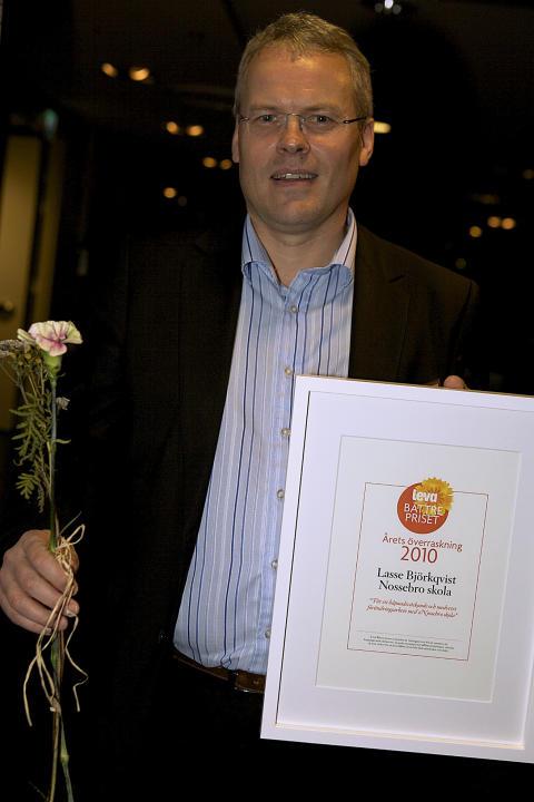 Lasse Björkqvist - Årets överraskning