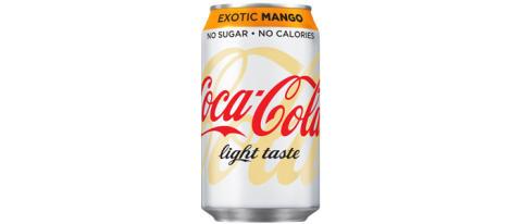 Coca-Cola light® kommer med ny design och mangosmak