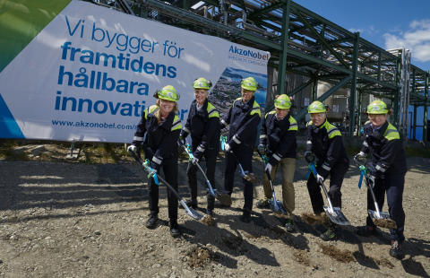 AkzoNobel Specialty Chemicals bygger demonstrationsanläggning för banbrytade etylenaminteknologi i Stenungsund