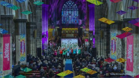 VisitScotland welcomes UK City of Culture 2021 shortlist announcement for Paisley