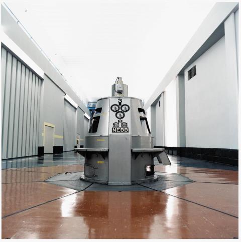 Generatortopp Nes kraftstasjon