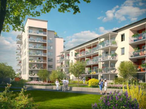 Rekord för Riksbyggens försäljning av bostadsrätter