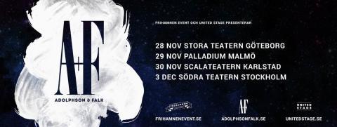 Adolphson & Falk på turné i vinter