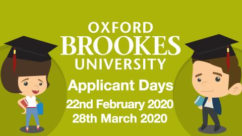 Oxford Brookes University Applicant Days