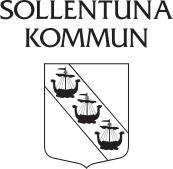 Logotyp Sollentuna kommun svart
