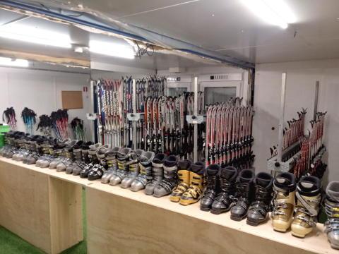 Åpning av BUA Stovner - utlånssentral for skiutstyr i Liabakken