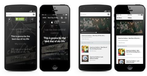 New Lyrics, Video and Sharing Experience in Shazam Update