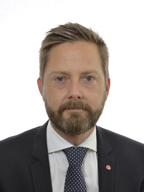 Leif Nysmed (S), bostadspolitisk talesperson