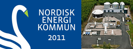 Lidköping topp tre när Nordens bästa Energikommun utsågs