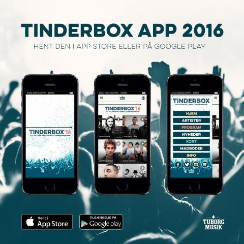 Tinderbox lancerer den officielle app for 2016