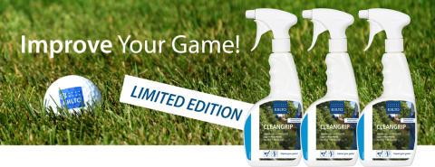 Puhdas Grip, parempi Swing  - Uusi golf-sesonkituote Kiilto CleanGrip puhdistaa mailan kädensijan tehokkaasti