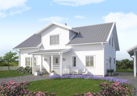 Villa Björkö, front