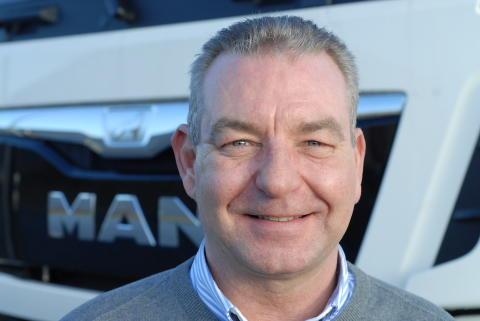 Lars Rasmussen - Ny salgskonsulent hos MAN i Kolding