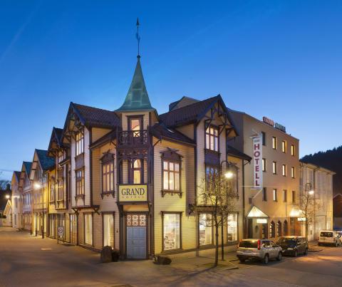 Das Grand Hotel in Egersund besteht in seinen ältesten Teilen seit 1878