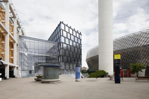 Quality Hotel Globe - Fasad mot Globen torget