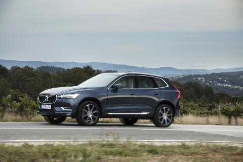 60-åriga marknadsledaren Volvo slår rekord bilåret 2017