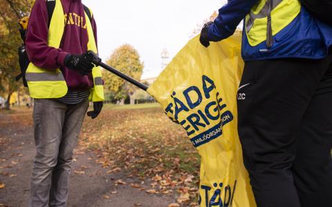 Städa Sverige - idrottens miljöorganisation.