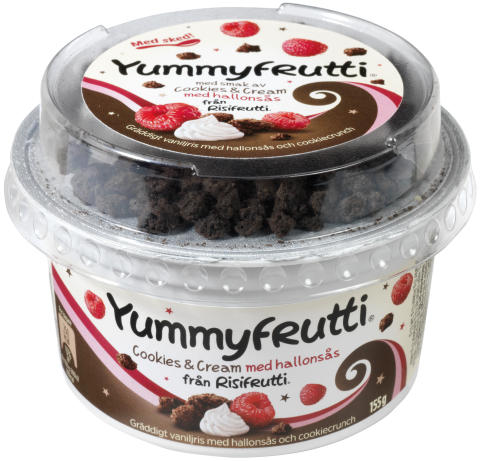 Yummyfrutti Cookies & Cream