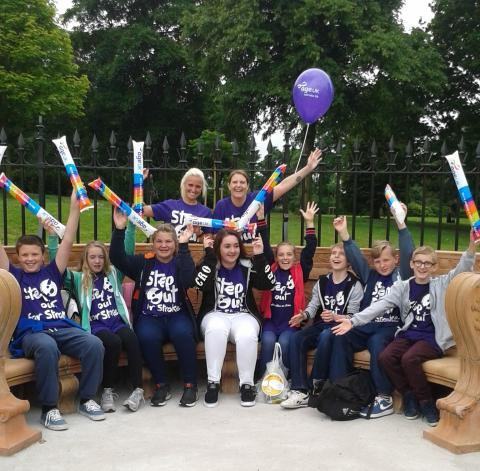 ​Step Out in St Helens to support stroke survivors