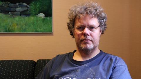 Oscar Andersson FRI ANVÄNDNING Foto: Högskolan Kristianstad