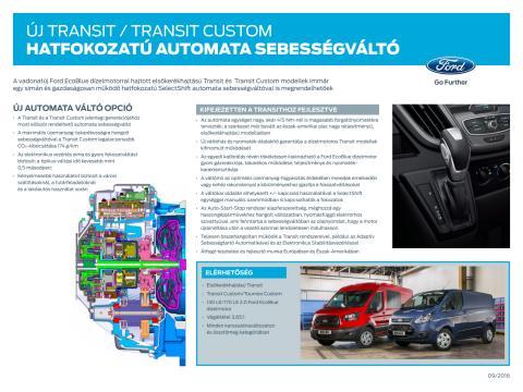 Transit automata váltó