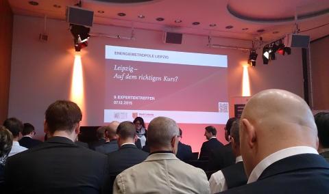 9. Expertentreffen der Energiemetropole Leipzig