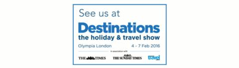 Meet Julia Bradbury at Destinations: The Holiday & Travel Show (London)