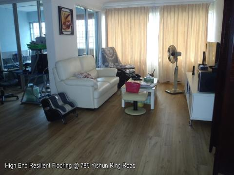 New High End Resilient Flooring Completed Project @ 786 Yishun Ring Road