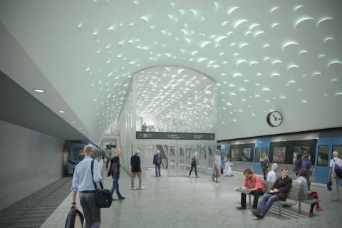 Projekteringen av Gula tunnelbanelinjen i Stockholm går som på räls - trots avsaknad av ritningar