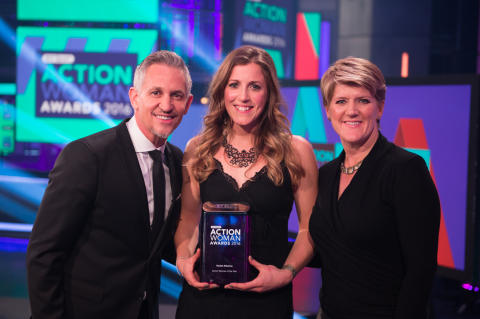 Cyclist Atherton crowned 2016 BT Sport Action Woman of  the Year