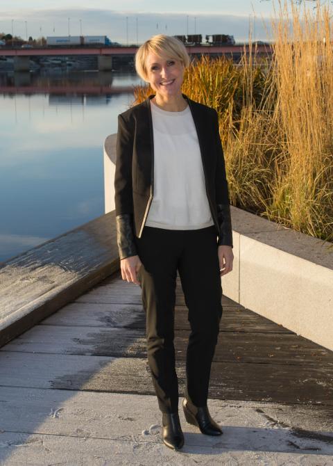 Leonora Wissting ny kontorschef på Swedbank i Lycksele