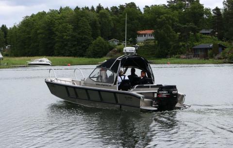 Ny båtmodell levererad till Åland