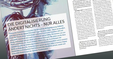 """Interview im """"Verbändereport"""": """"Die Digitalisierung ändert nichts – nur alles"""""""