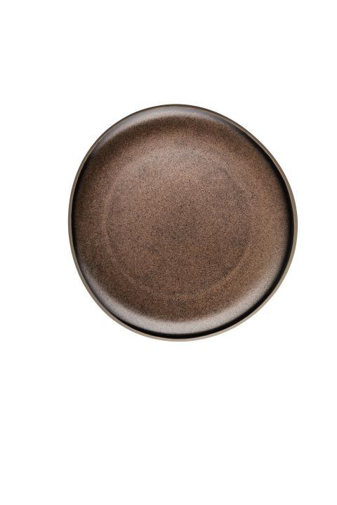R_Junto_Shiny_bronze_Plate_flat_22_cm