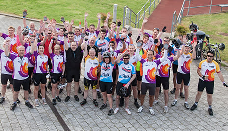 1,500 cyclists complete marathon ride to boost apprenticeships