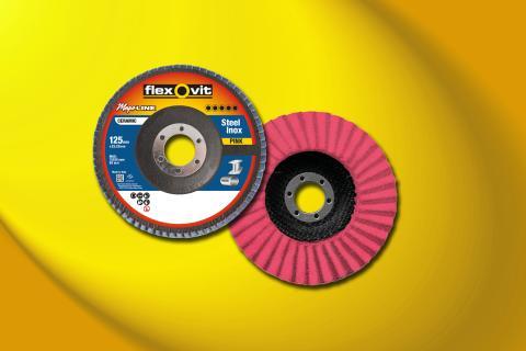 Flexovit Mega-Line Pink lamellrondeller - Produkt 1