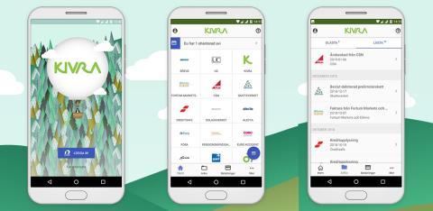 Kivra lanserar native app för Android