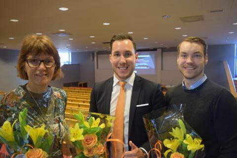 Entreprenörsutmaningen på Jönköping University i samband med karriärsmässan nextstep