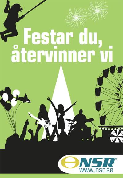 Det är lätt att sortera rätt under Helsingborgsfestivalen