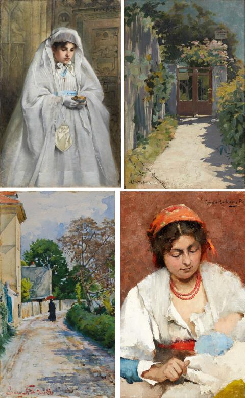 New acquisition: Works by female artists working in France in the 1880s