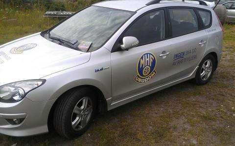 "MHF-Ungdoms ""Stoppa rattfylleriet""-bil"