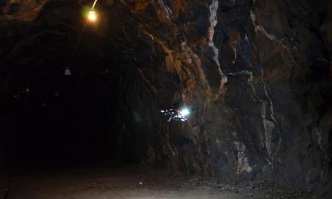 Självkörande drönare vid Luleå tekniska universitet undersöker bergrum