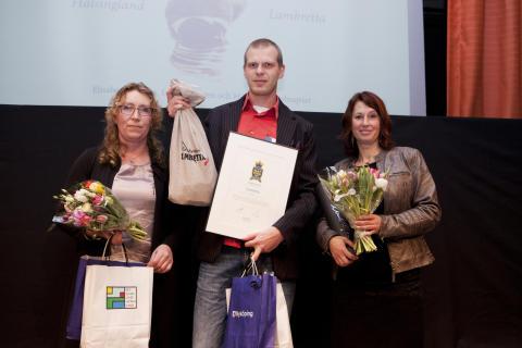 Hälsinglands stolta lamm på prispallen i Matverk 2014