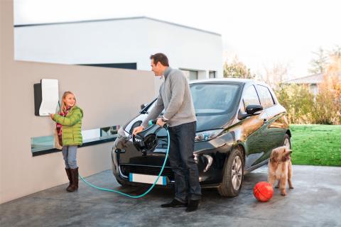 EVlink - Fem tips för hemmaladdning av elbil