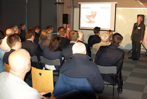 Investerare träffade Inkuberabolag under Match Arena
